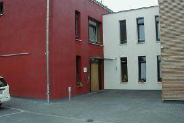 Foto des Eingang zur Wohnstätte